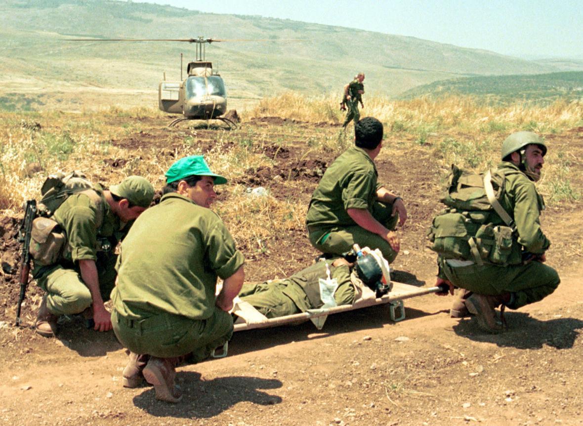 Milice podporující Izrael na okupovaném území jižního Libanonu