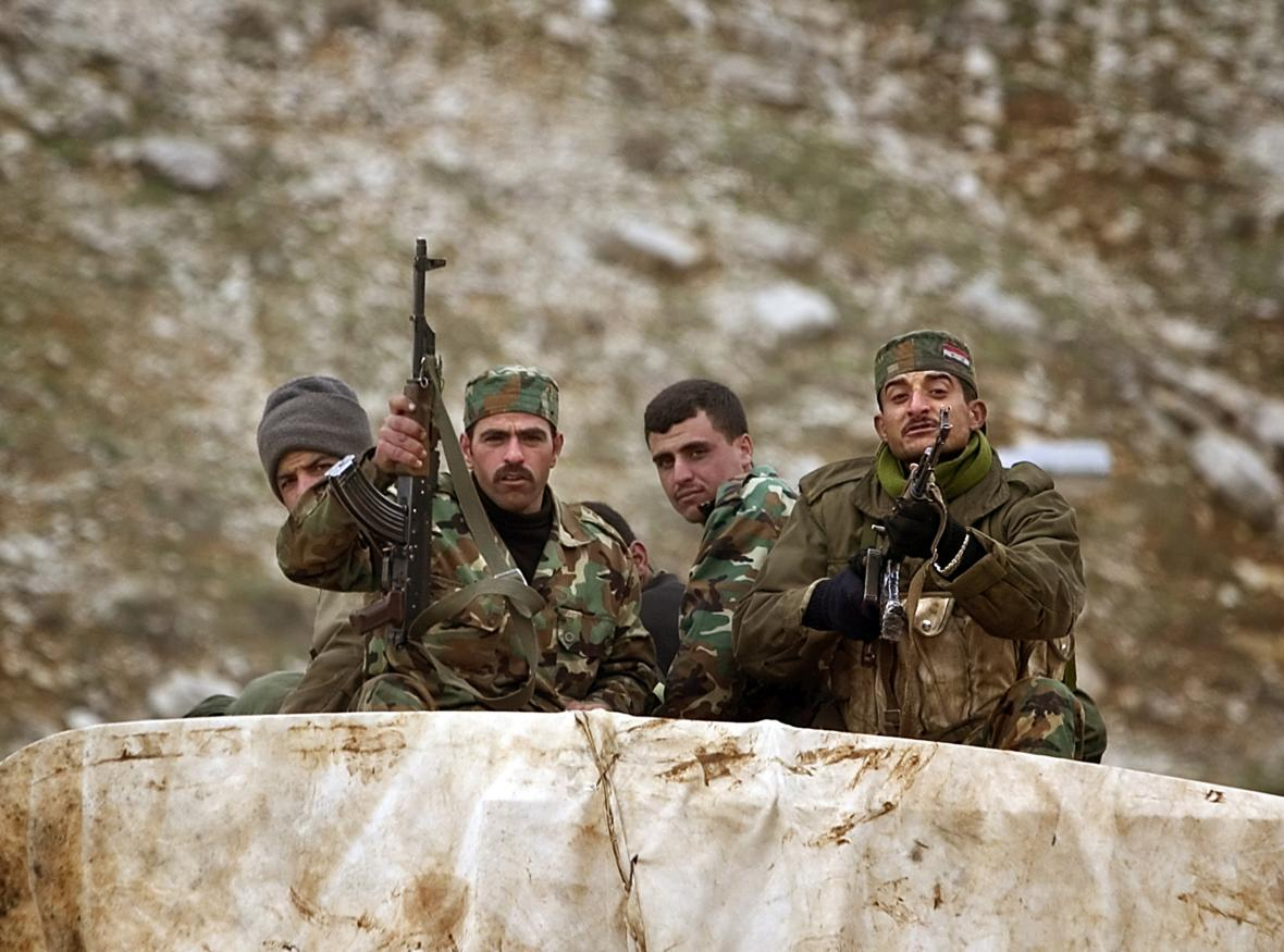 Syrští vojáci setrvali v Libanonu až do roku 2005