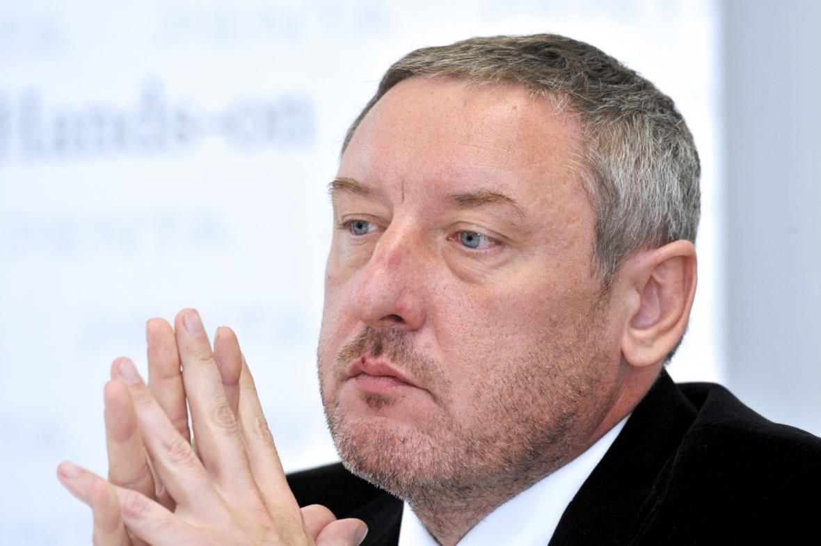 Podnikatel Martin Ulčák (na snímku z roku 2011)