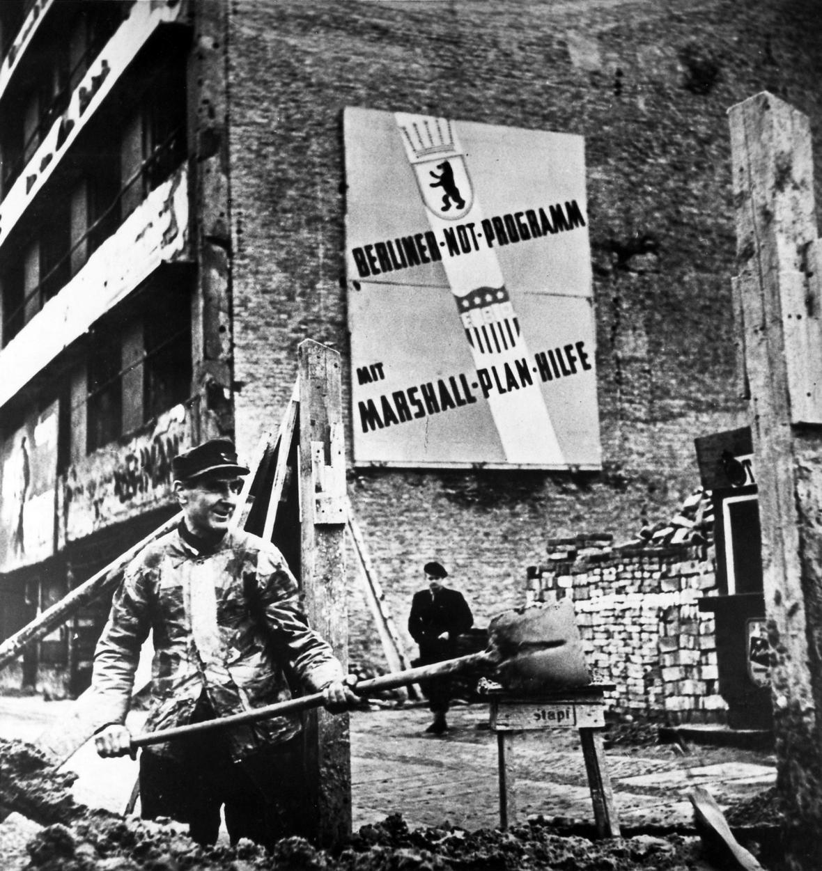 Západní Berlín v roce 1949