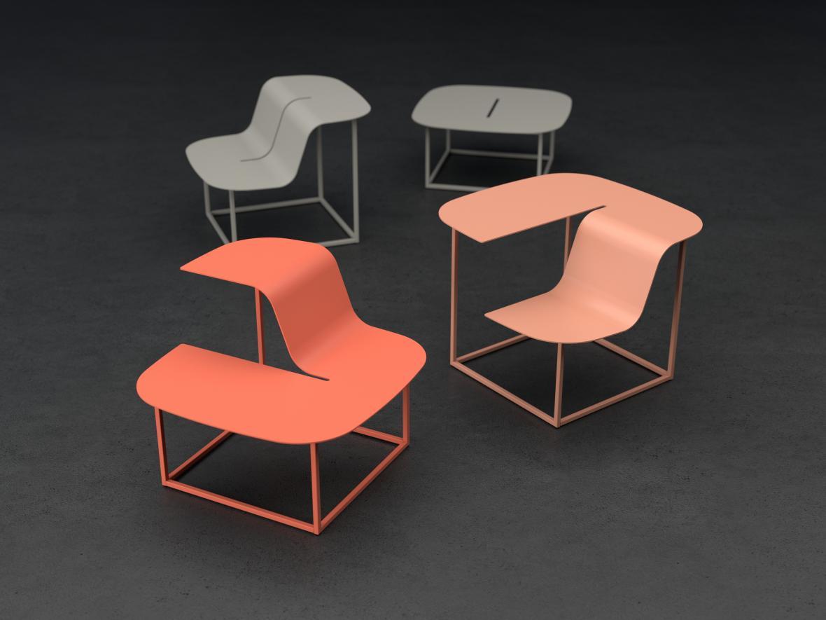 Kolekce nábytku Manta pro mmcité1 (Lucie Koldová)