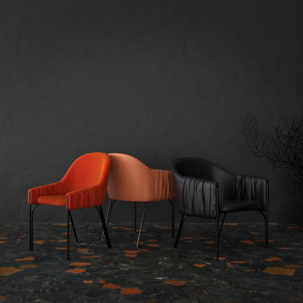 Kolekce sedacího nábytku Celine (Lucie Koldová)