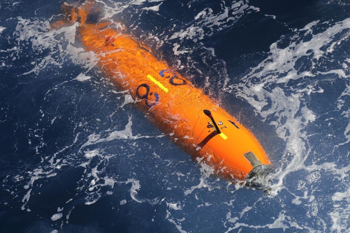 Dron, který se potopil k vraku USS Nevada