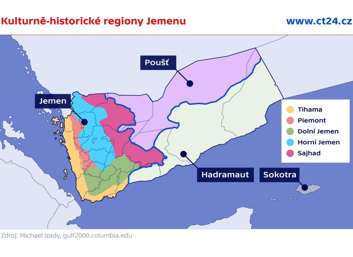 Kulturně historické regiony Jemenu