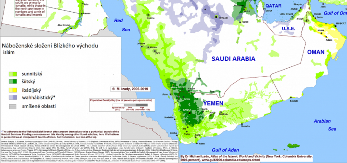 Náboženství na jihu Arabského poloostrova