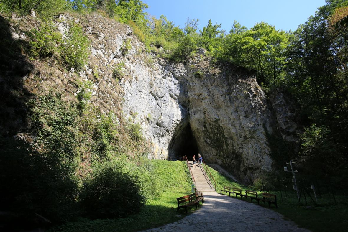 Kateřinská jeskyně, Moravský kras