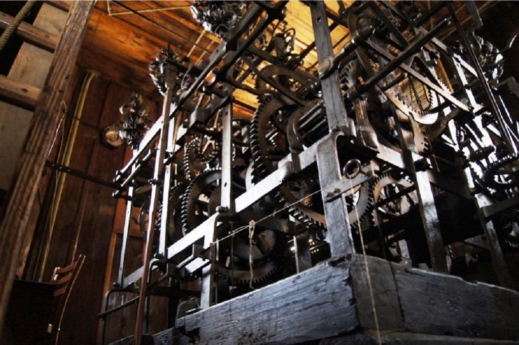 Stroj zvonkohry v pražské Loretě