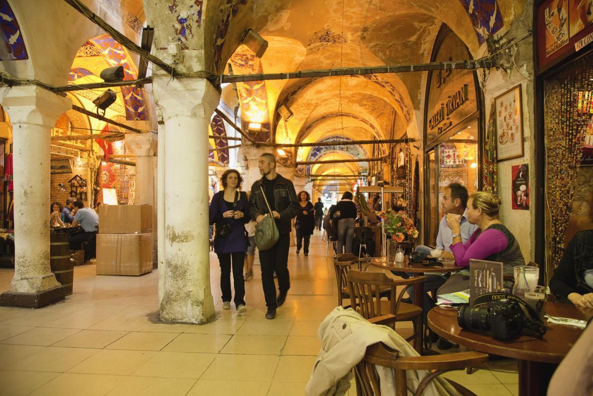 Velký bazar v Istanbulu