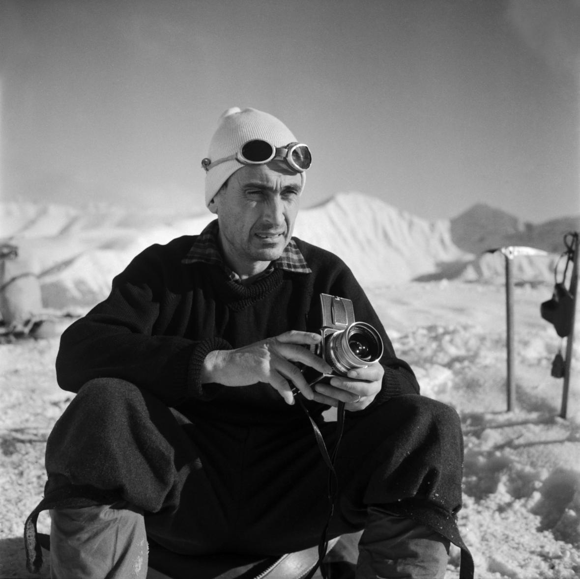 Vilém Heckel na fotografii z roku 1965