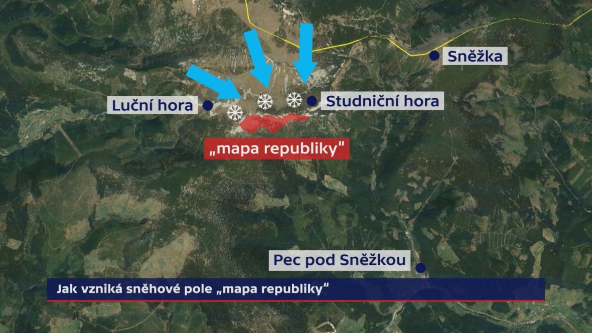 Vznik mapy republiky