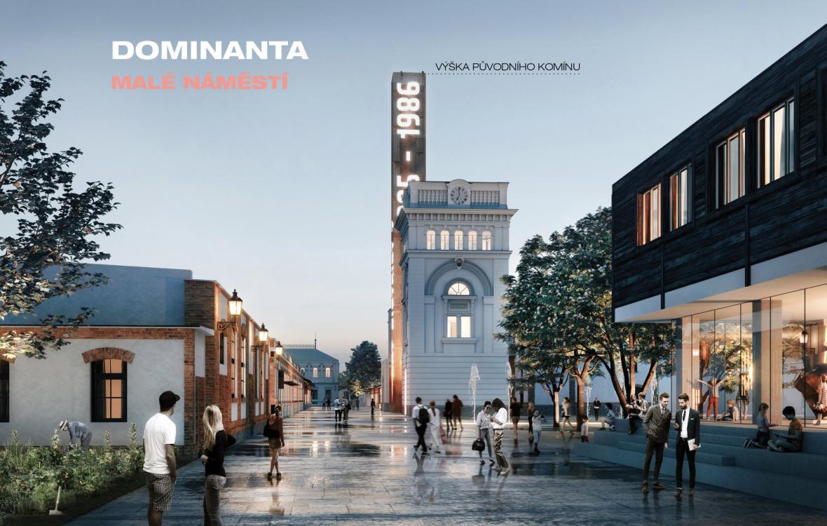 Vizualizace budoucí podoby Pražské tržnice v Holešovicích