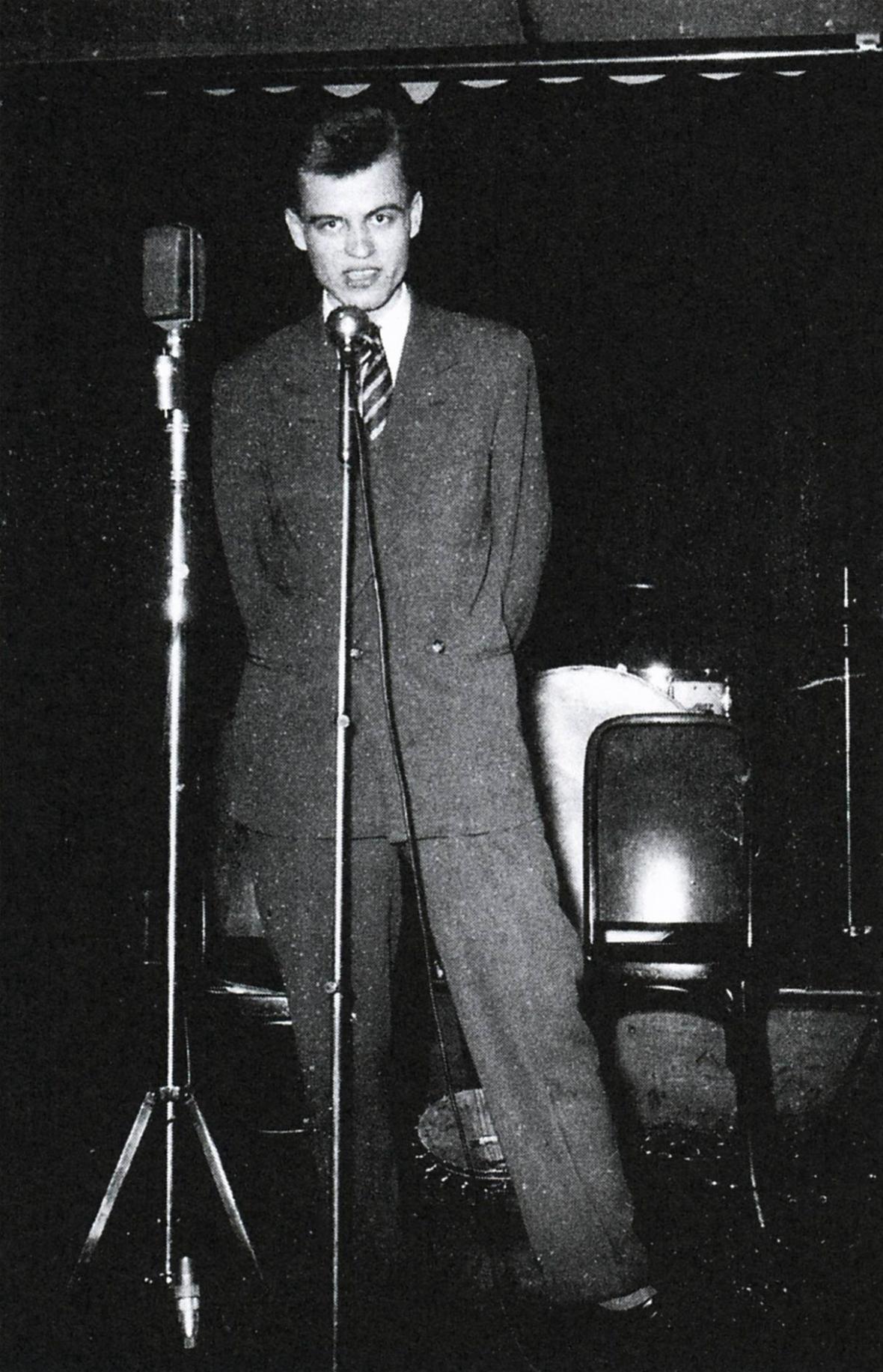 Václav Hrabě v pražské Viole