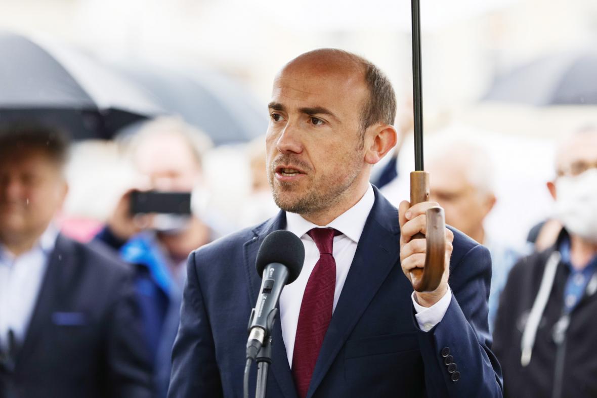 Předseda Občanské platformy Borys Budka