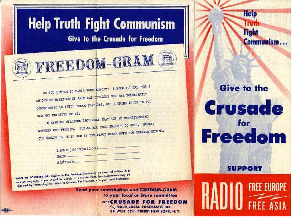 Výzva Američanům k boji proti komunismu