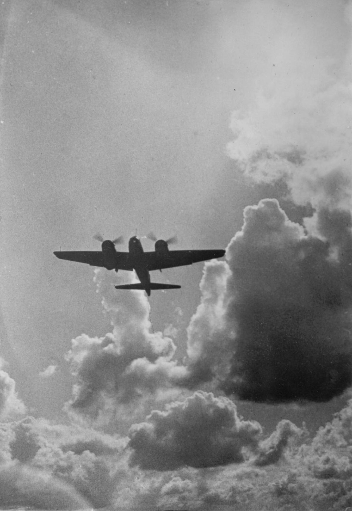 Junkers Ju-88 nad Anglií