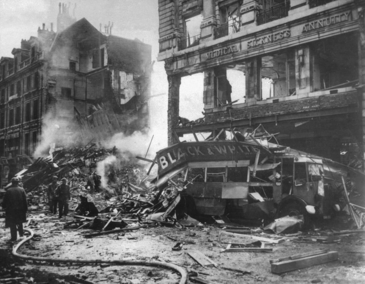 Bombardování Londýna