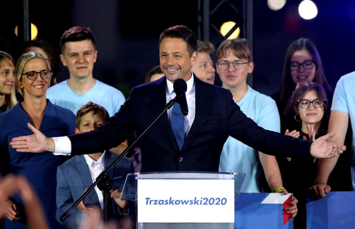 Andrzej Duda po volbách