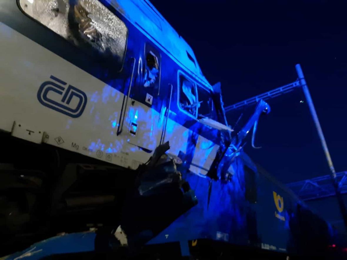 Železniční nehoda u Českého Brodu