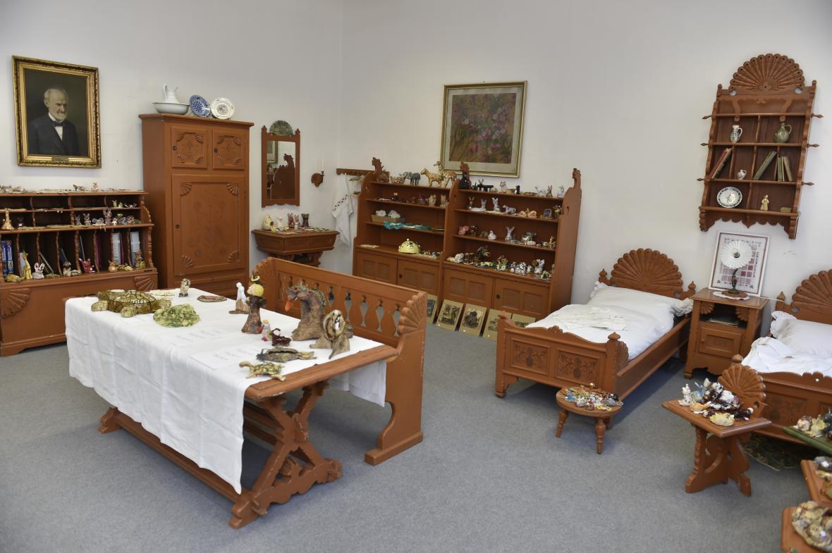 Jurkovič navrhl i nábytek pro dívčí penzionát Vesny