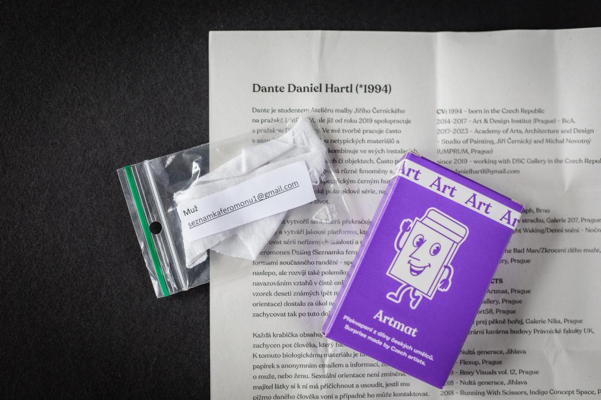 Seznamka Danteho Daniela Hartla pro Artmat