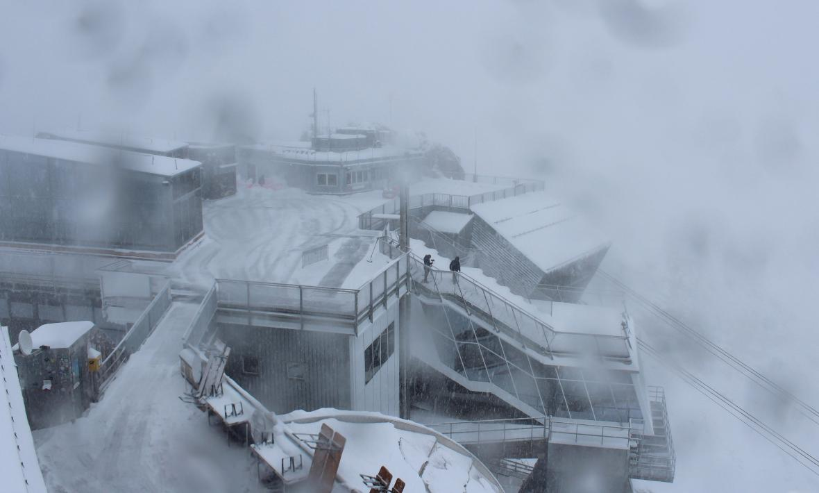Počasí na Zugspitze