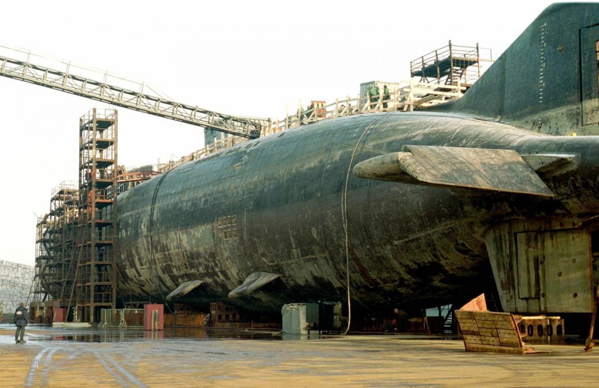 Hávarie ponorky Kursk