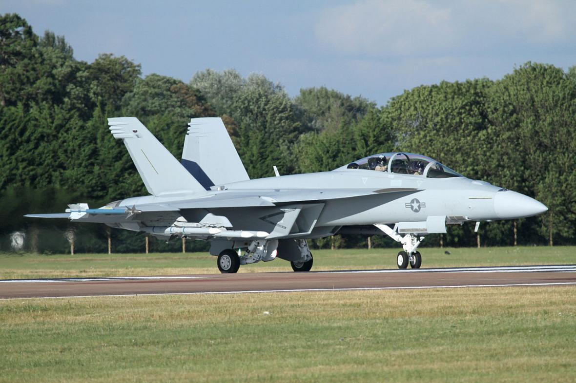 Americký palubní letoun Boeing F/A-18 Hornet byl už součástí předchozího tendru na přelomu století. Nyní je k dispozici nová, výkonnější verze E/F, kterou nedávno pod nátlakem ze strany USA nakoupilo i Německo
