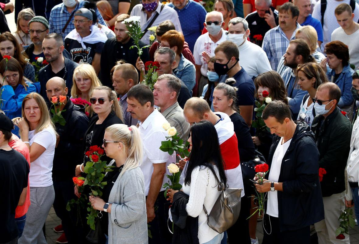 Pohřeb Alexandra Tarajkovského
