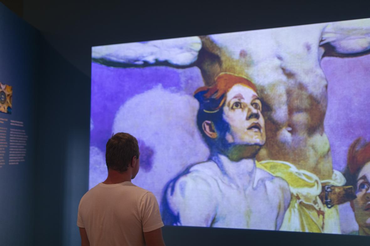 Z výstavy iMucha