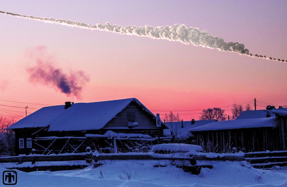 Stopa Čeljabinského meteoru