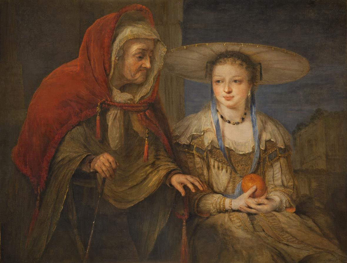 Arent de Gelder / Vertumnus a Pomona, nedatováno