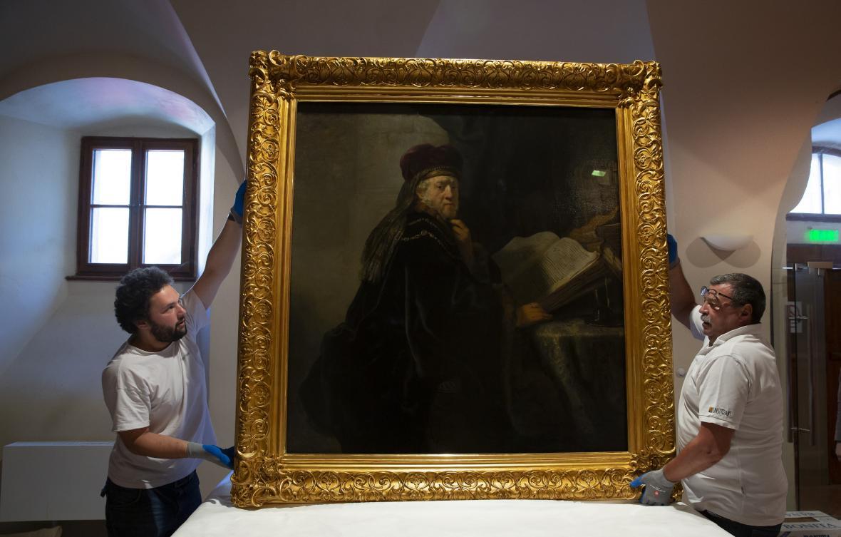 Obraz Učenec ve studovně