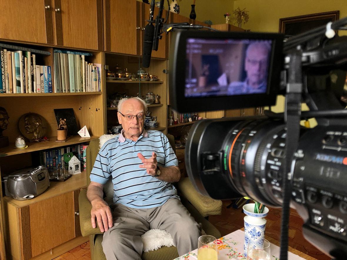 Natáčení dokumentu Život s Alzheimerem