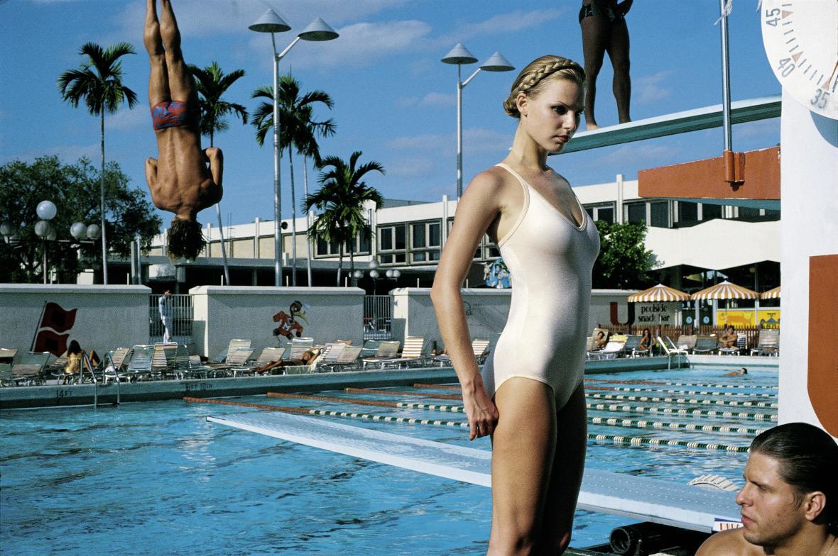 Fotografie pro New York Times, Miami, 1978, (c) Helmut Newton Foundation