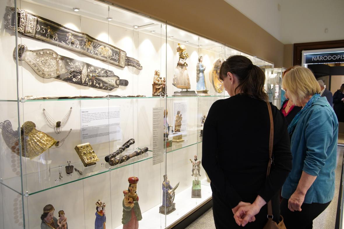 Národopisná expozice v Jihočeském muzeu