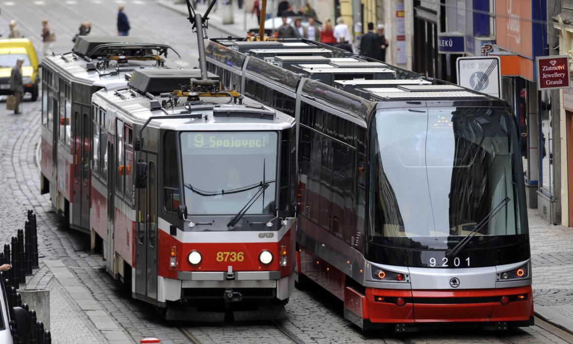 Tramvaje T6A5 a 15T