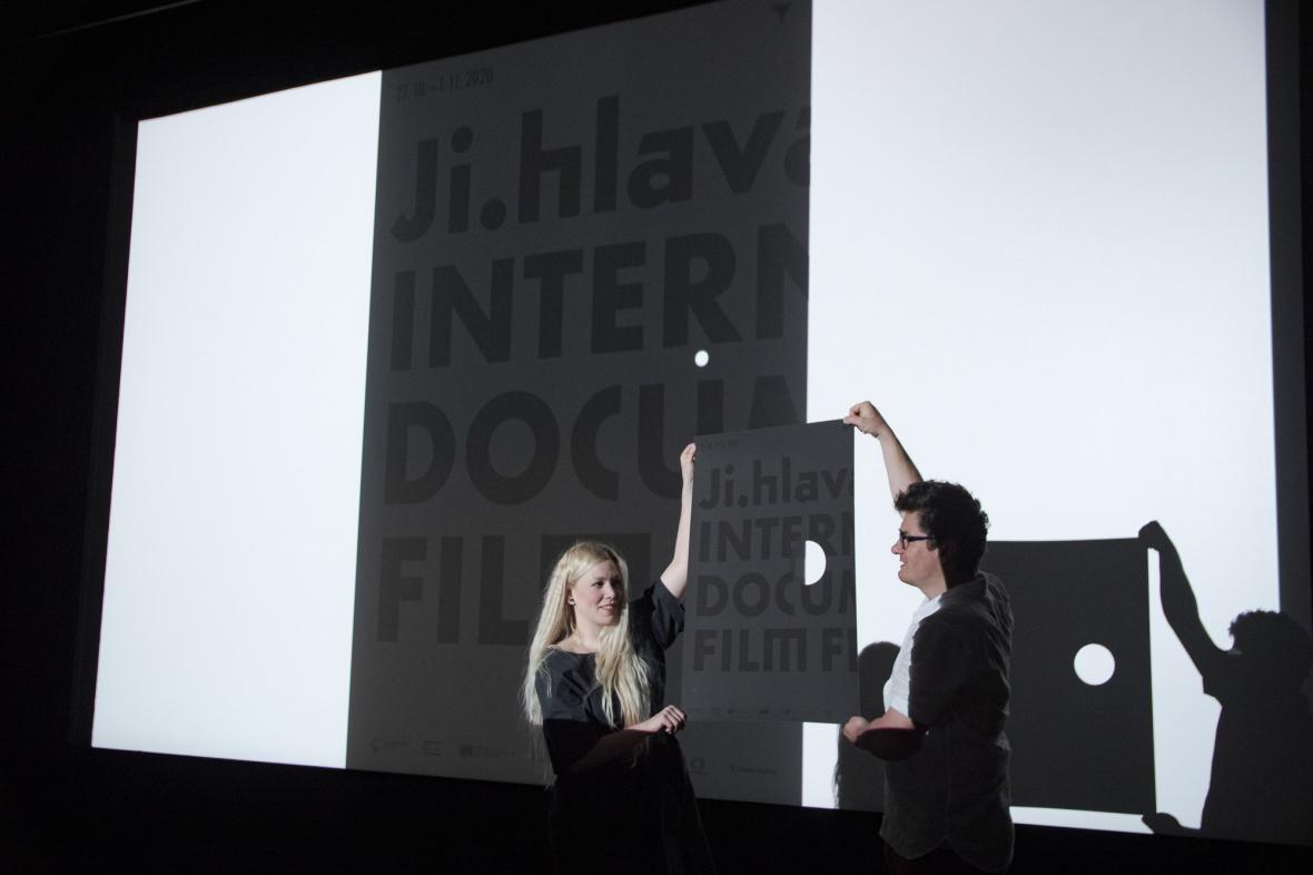 Odhalení plakátu 24. ročníku festivalu Ji.hlava