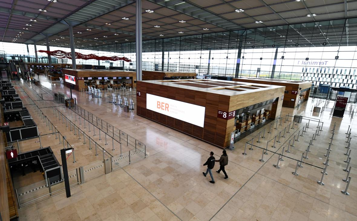 Terminál 1 nového letiště