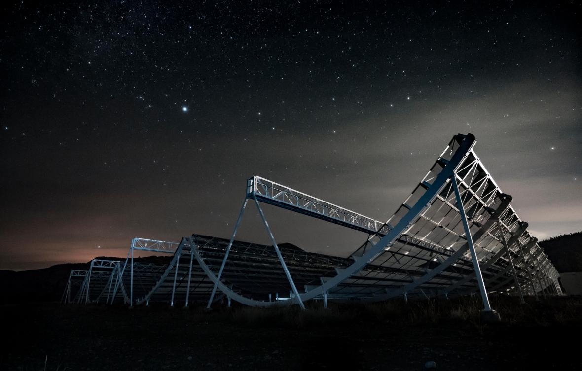 Teleskop CHIME, který FRB zkoumal