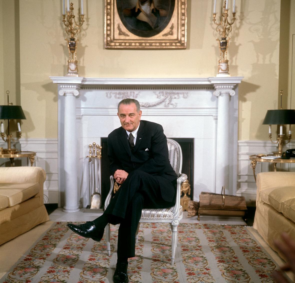 Prezident Lyndon B. Johnson