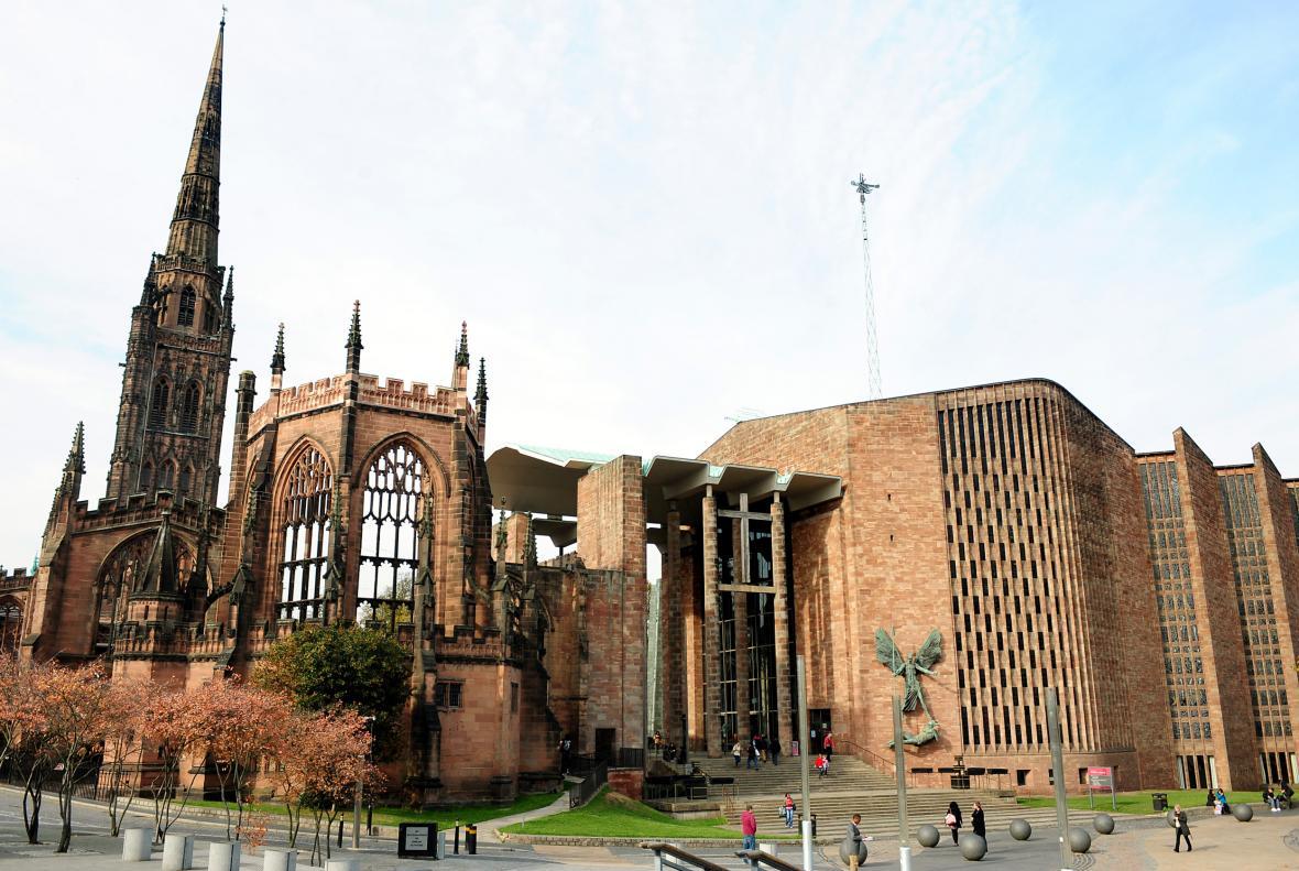 Katedrála v Coventry