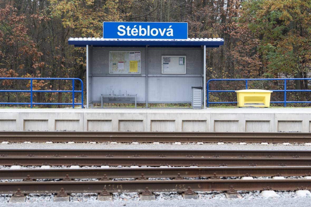 Nádraží Stéblová