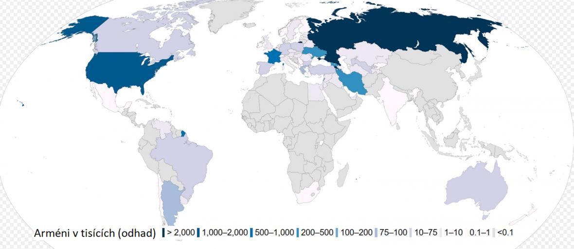 Arménská diaspora