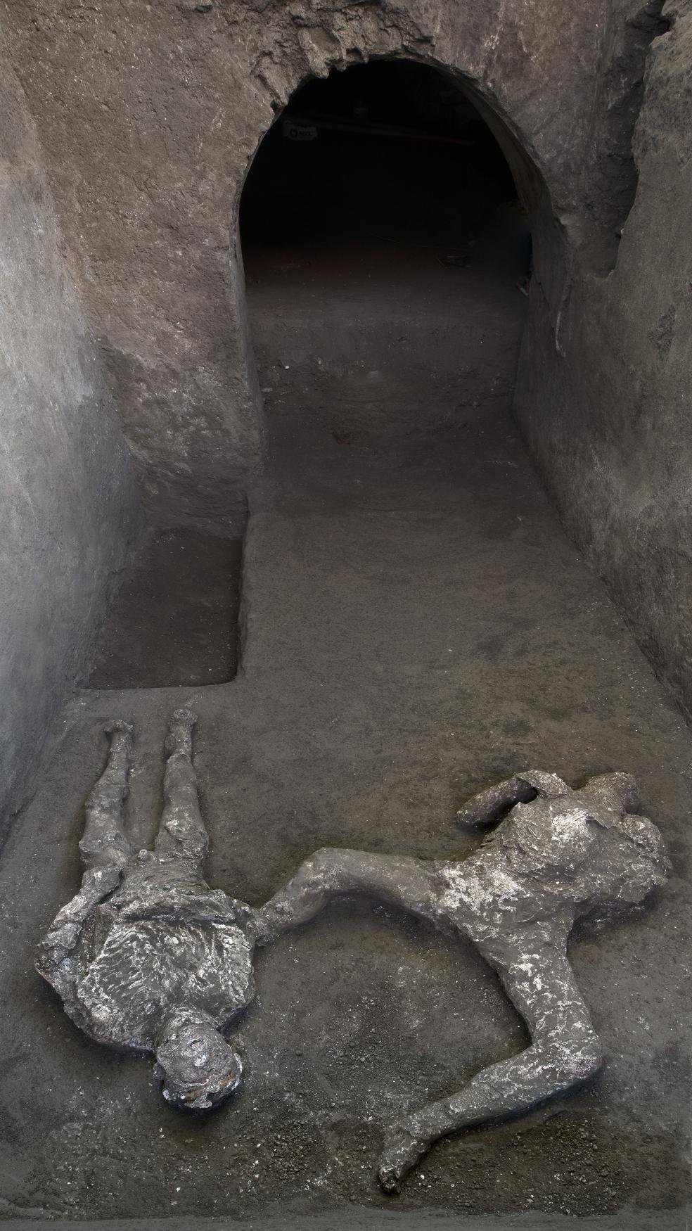 Otrok a jeho pán z Pompejí