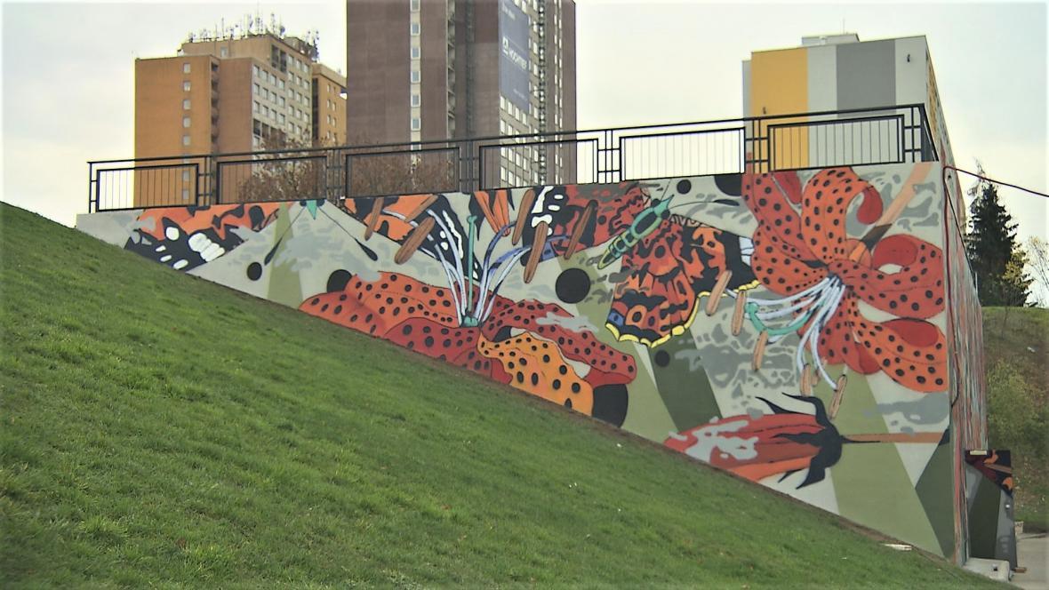 Mural art na Opatově