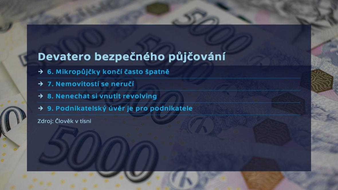 Devatero bezpečného půjčování 2