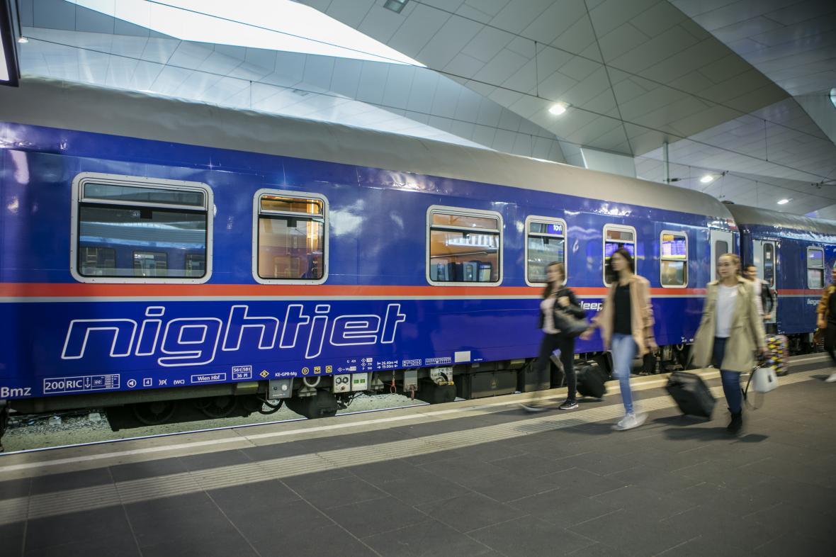 Noční vlak Nightjet