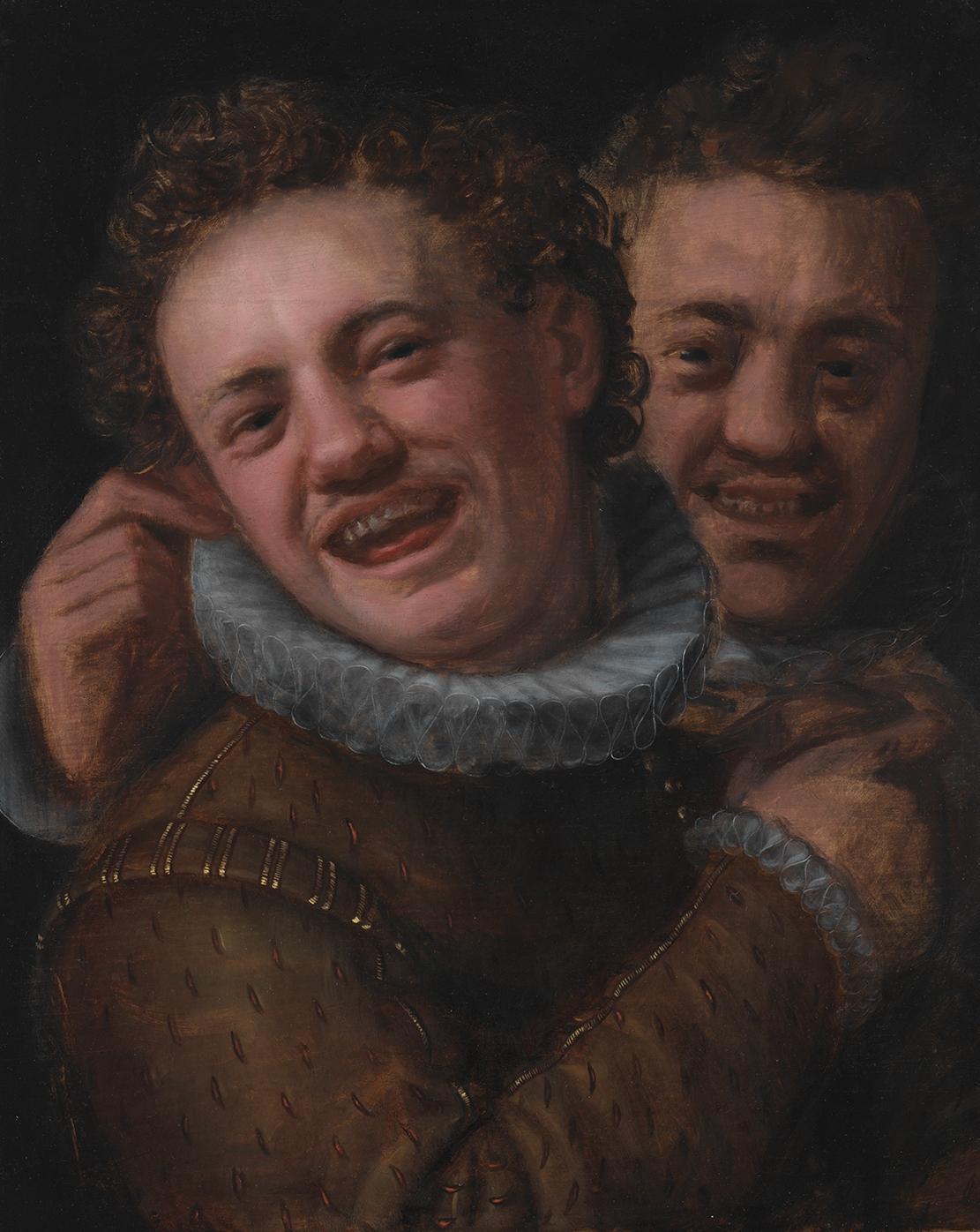 Hans von Aachen / Dva smějící se mladíci (před 1574)