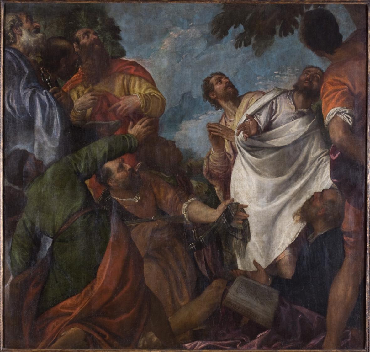 Paolo Caliari, zvaný Veronese / Jedenáct apoštolů (okolo 1575)
