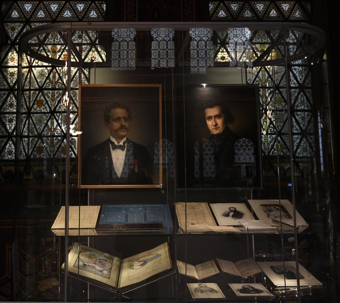 Expozice ve Španělské synagoze